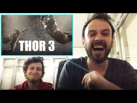 Thor 3: Ragnarok Fragman Türkçe Reaksiyon De?erlendirme Gibimsi