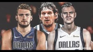 Kristaps Porzingis Mavericks DEBUT Luka Doncic ALL PLAYS TOGETHER Against Pistons 2019 NBA Preseason