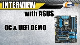 Newegg TV_ Sandy Bridge Overclocking & UEFI Demo on ASUS P8P67 P67 1155