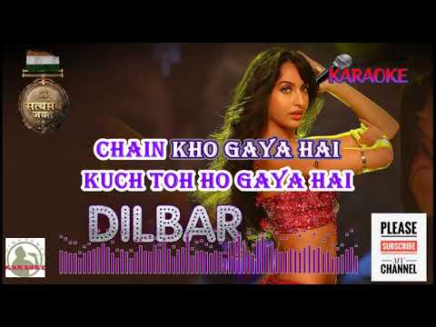 Download Lagu  DILBAR Satyamev Jayate HQ Karaoke with Scrolling s Mp3 Free