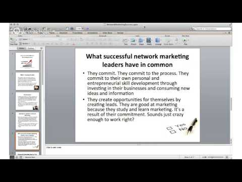 Network Marketing Success - Fun and Easy Shortcuts to Network Marketing Success