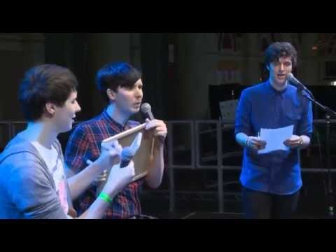 Dan and Phil 'Friend Test' (Summer in the City 2014)