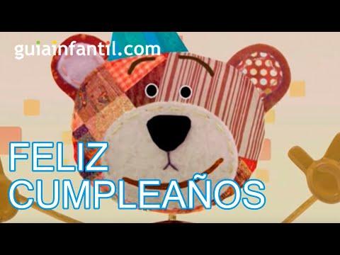 Cumpleaños feliz, canción infantil para felicitar el cumpleaños