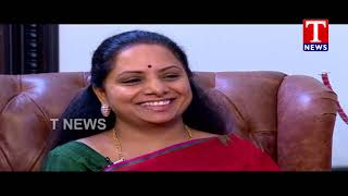 MP Kavitha's Special Interview | 19-08-2018  live Telugu