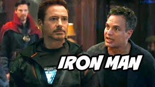 Avengers Infinity War Hulk Warns Iron Man and Doctor Strange Scene Breakdown