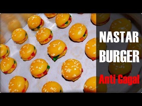 Resep Kukis Unik Lebaran |  Nastar Burger Anti Gagal