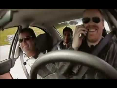 Mythbusters - Cell Phones Vs. Drunk Driving - 1 of 3