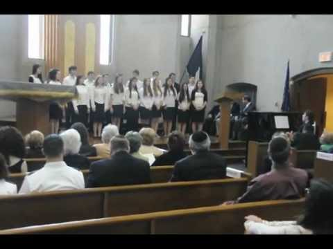 Bridge Over Troubled Water, performed by SAR High School Choir