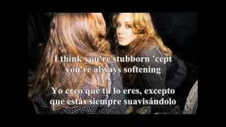 Adele Video - Adele - My same (Sub. Español/Inglés)