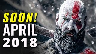 17 New Games Coming in April 2018 | PC,Switch,PS4,XB1