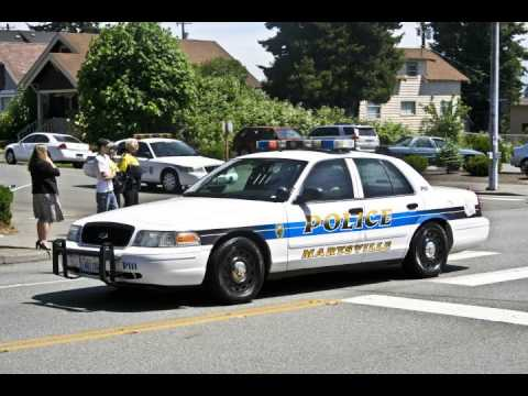 Man fires shots against police in 3 Wash. towns