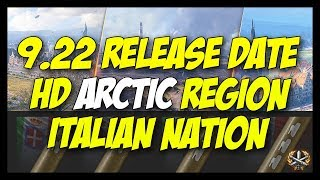 ► 9.22 Release, HD Arctic Region, Italian Nation Stuff, Premiums! - World of Tanks News