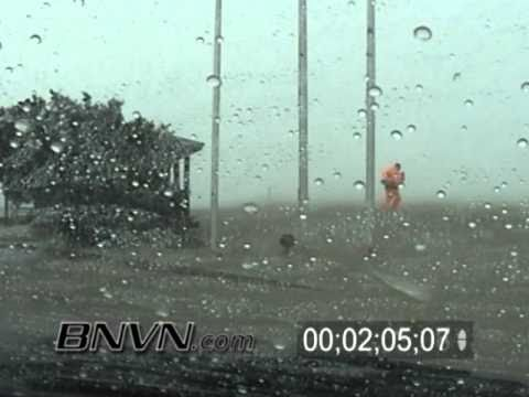 Hurricane Frances Video, Fort Pierce, FL and Hutchinson Island, FL Part 5