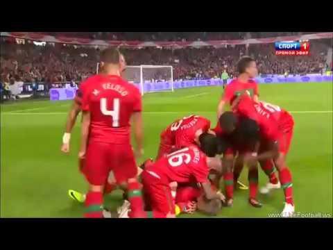 Великолепный гол со штрафного в исполнении К  Роналду в ворота Боснии