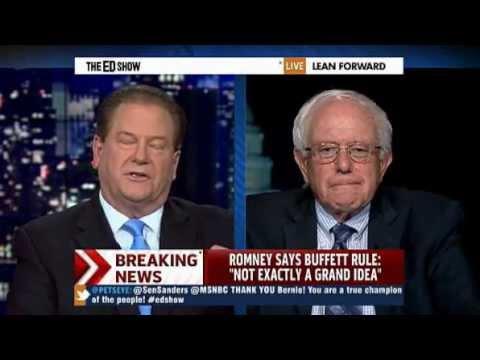 MSNBC - Ed Show - Republican vote against Buffett rule a vote against fairness