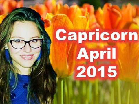 CAPRICORN April 2015. Big Career Changes Possible!
