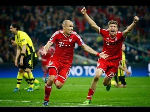 Bayern Munich vs Borrusia Dortmund 2 1 2013 Final Uefa Champions League Full Match Highlights
