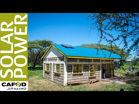 CAFOD: Schools Powered By Solar Power In Kenya: One Climate One World
