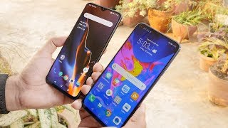 Honor View 20 Vs OnePlus 6T Compared including Camera