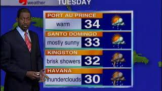 Caribbean Travel Weather   Tuesday May 22nd