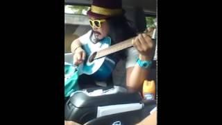 Maalaala Mo Kaya (cover) -- Mista Cookie Jar riding shotgun in Manila