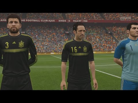 EA SPORTS FIFA 16 - Netherlands v Spain Gameplay (Hazy) [1080p 60FPS HD]