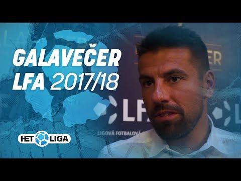 Galavečer Ligové fotbalové asociace 2017/2018
