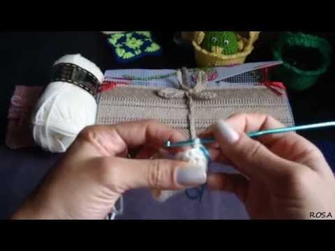 Crochet, como hacer una funda para tu celular (HD) 1/2