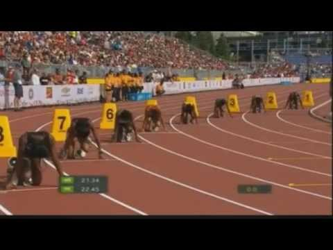 Women's 200m Final at Pan American Games CAN 2015