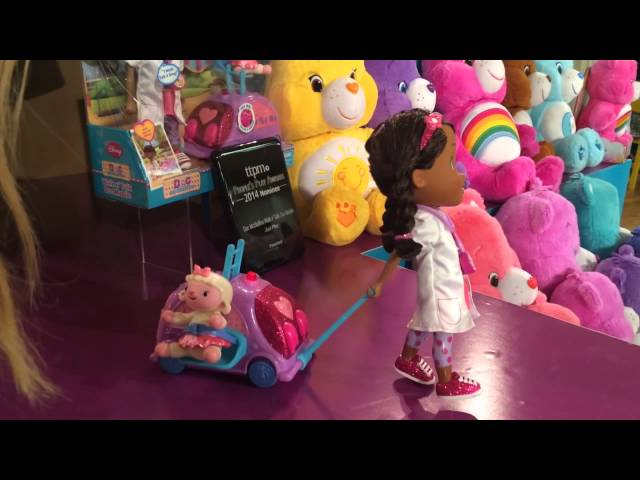 Doc McStuffins Walk n' Talk Doc Mobile Doll