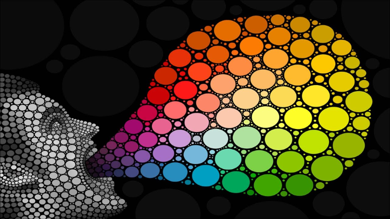 Abstract Illustrative Organization Of Color Hues Around A Circle That Shows Relationships Between Primary Colors Secondary Tertiary Etc
