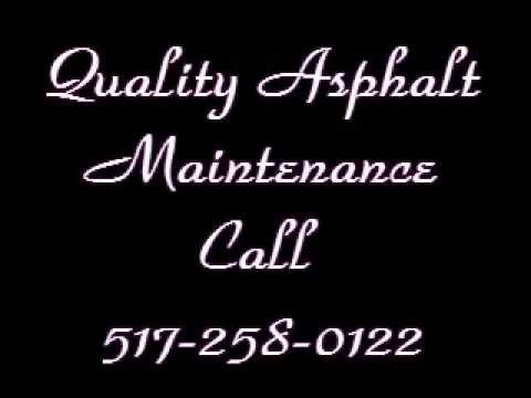 Asphalt Sealcoating | 517-258-0122 | Charlotte MI | Asphalt Maintenance | Eaton County