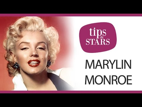 Maquillage Marilyn Monroe : se maquiller comme Marilyn Monroe