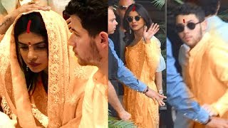 Priyanka Chopra And Nick Jonas Pre-Wedding Puja
