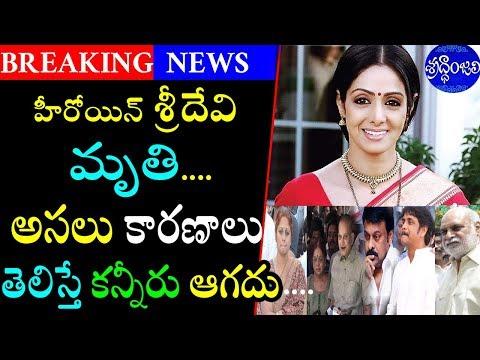 శ్రీదేవి కన్నుమూత...అసలు కారణాలు ఇవే|Actor Sridevi Passes Away|Heroine Sridevi|Filmy Poster thumbnail
