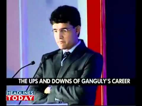 Sourav Ganguly  India Today Youth Summit 2010 : I want to coach Team India