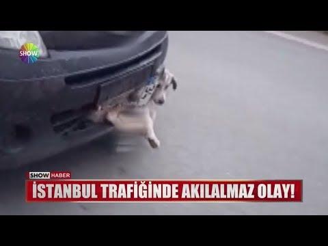 İstanbul trafiğinde akılalmaz olay!