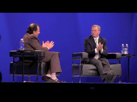 Eric Schmidt about Steve Jobs and Steve Ballmer, Dreamforce Sept. 2011 in San Francisco