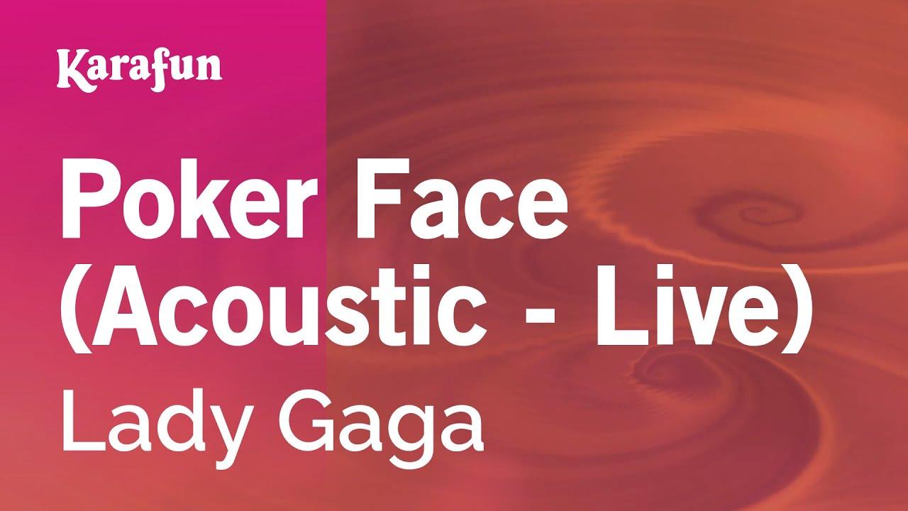 Download lagu lady gaga poker face acoustic