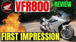 HONDA VFR800 2018 | Review | First impression
