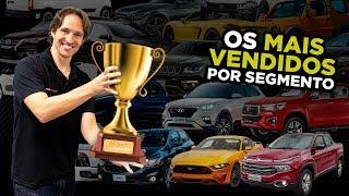 🥇Só CAMPEÕES de todos segmentos (incluindo os esquecidos): Carros mais Vendidos do Brasil em 2018