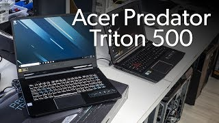 Acer Predator Triton 500 unboxed and benchmarked