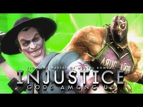 Injustice: Gods Among Us - Killing Joke & Luchadore Costumes/Gameplay [1080p] TRUE-HD QUALITY