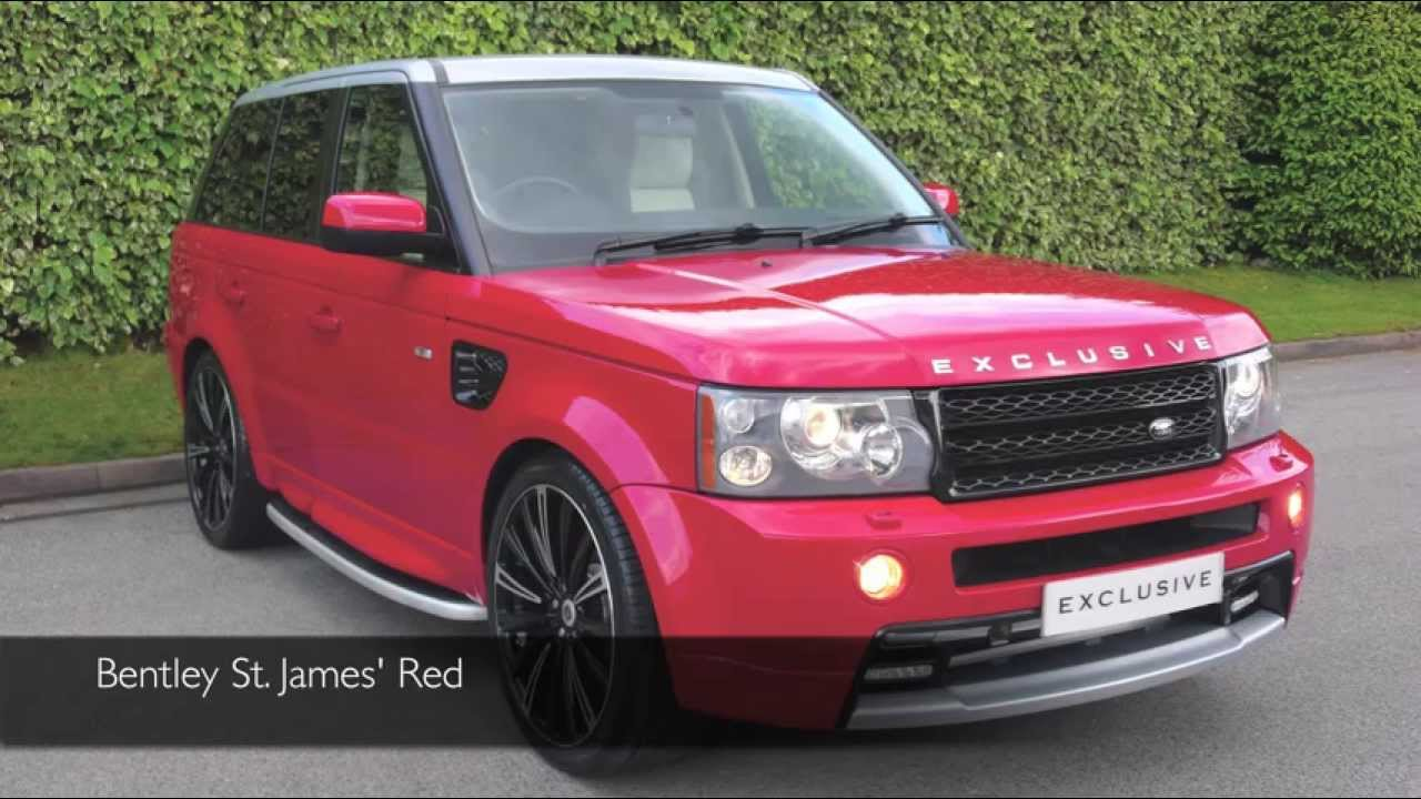 Exclusive Cars Gb Land Rover Range Rover Sport