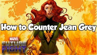 How to Counter Jean Grey - Marvel Future Fight