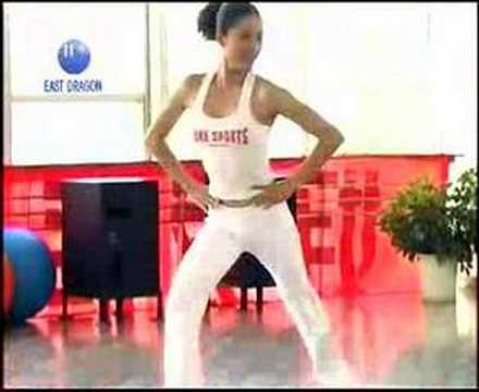 Self learning aerobic dance