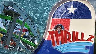 Typhoon Texas - Houston 2017 Overview in HD with POVs Katy Texas - Thrillz