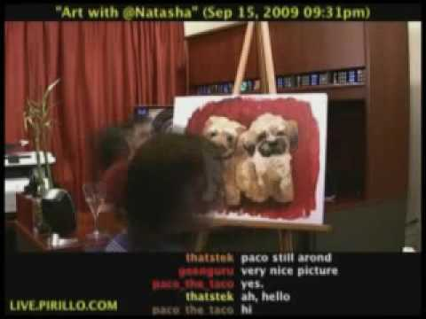 Pixie and Wicket Painting Fast
