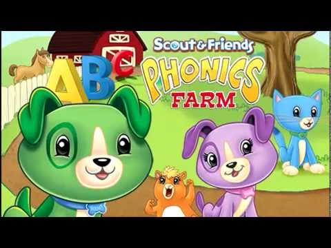 Scout &amp  Friends Phonics Farm  Reading Skills Dvd For Kids   Leapfrog