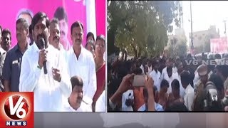Ministers Thummala And Jagadish Reddy Participates In Development Works In Narketpally